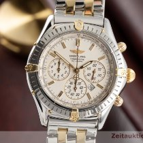 Breitling Shadow Flyback Gold/Steel 38mm Silver