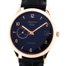 Zenith Rose gold 37mm Automatic 17.0125.680 pre-owned
