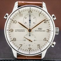 IWC 36751 Steel 2006 Portuguese Chronograph pre-owned