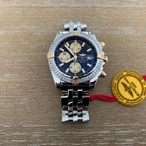 Breitling Chronomat Evolution Gold/Steel 43mm Black No numerals United States of America, New Jersey, Edgewater