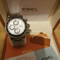 Ebel 1911 Discovery Acier 43mm Blanc