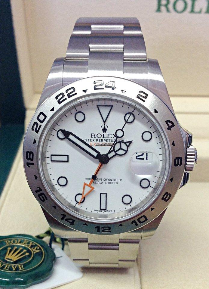 Rolex Explorer II 216570 2021 new