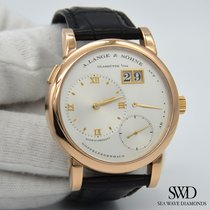 A. Lange & Söhne Lange 1 Rose gold 38.5mm Silver Roman numerals United States of America, New York, New York