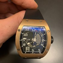 Richard Mille RM 005 Rose gold 38mm Transparent Arabic numerals