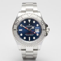 Rolex Yacht-Master 40 Platinum 40mm Blue No numerals United Kingdom, London