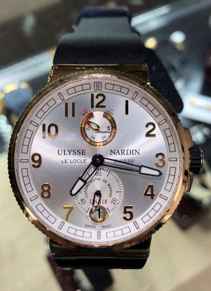 Ulysse Nardin Marine Chronometer 43mm 263-67-3/42 new