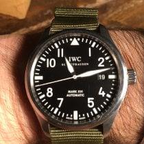 IWC Pilot Mark Steel 39mm Black Arabic numerals