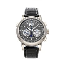 A. Lange & Söhne Datograph White gold 41mm Grey No numerals United States of America, Pennsylvania, Bala Cynwyd