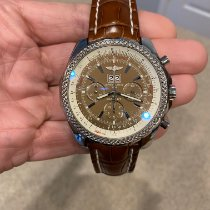 Breitling Bentley 6.75 Steel 48mm Brown No numerals United States of America, Pennsylvania, Sinking Spring