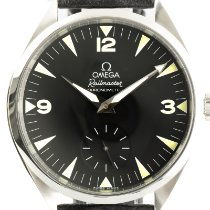 Omega Seamaster Railmaster Steel 48mm Black