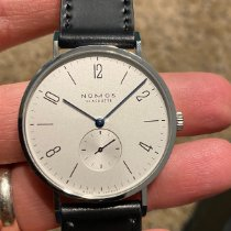 NOMOS Tangente 38 Steel 37.5mm Silver Arabic numerals United States of America, New Jersey, Flemington