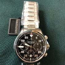 Hamilton Khaki Pilot new Automatic Chronograph Watch with original papers H64666135