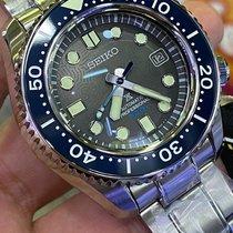 Seiko Marinemaster Steel 44.3mm Grey No numerals
