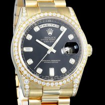 Rolex Day-Date 36 118388 Very good Yellow gold 36mm Automatic