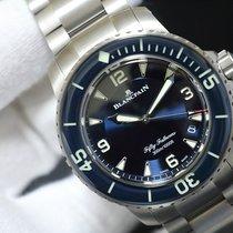 블랑팡 티타늄 45mm 자동 5015-12B40-98B 중고시계
