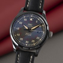 IWC Ceramic Automatic Grey 41mm pre-owned Pilot Mark