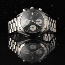 Omega Speedmaster Reduced gebraucht 39mm Grau Chronograph Datum Stahl