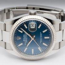 Rolex Datejust Steel 36mm Blue No numerals Finland, Imatra