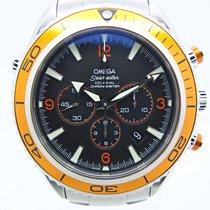Omega Seamaster Planet Ocean Chronograph Acero 45,5mm Negro Arábigos España, Huesca