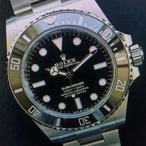 Rolex 124060 Rolex  SUB no Date 41mm LC 100 NEU Januar 2021 B & P Stahl 2021 Submariner (No Date) 41mm neu Deutschland, Eltville