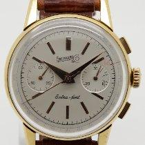 Eberhard & Co. gebraucht Chronograph 36mm Silber Plexiglas