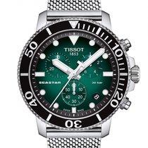 Tissot Seastar 1000 neu 2020 Quarz Chronograph Uhr mit Original-Box und Original-Papieren T120.417.11.091.00