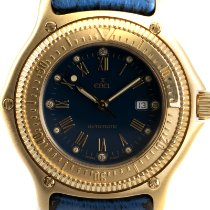 Ebel Discovery Yellow gold 49mm Blue