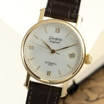 Glashütte Original Yellow gold Automatic Silver 35mm pre-owned