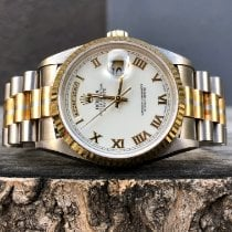 Rolex Day-Date 36 Or blanc 36mm Or