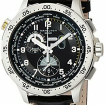 Hamilton Khaki Aviation Steel 45mm Black Arabic numerals United States of America, New Jersey, Somerset