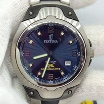 Festina Steel 40mm Quartz 658602 new