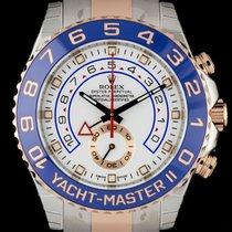 Rolex Yacht-Master II 116681 Nem viselt Arany/Acél 44mm Automata