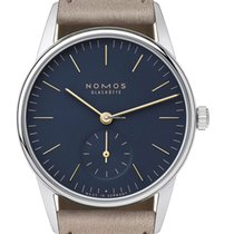 NOMOS Orion 33 new 2021 Manual winding Watch with original box and original papers 329