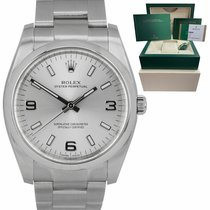Rolex Oyster Perpetual 34 pre-owned 36mm Silver Steel