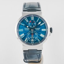 Ulysse Nardin Marine Chronometer 43mm Steel 43mm Blue United States of America, Massachusetts, Boston