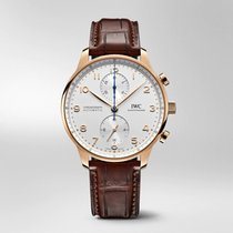 IWC Portuguese Chronograph new 2020 Automatic Watch with original box and original papers IW371611