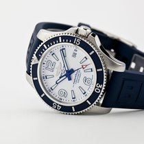 Breitling Superocean 42 Steel 42mm White Arabic numerals United States of America, New Jersey, Oradell