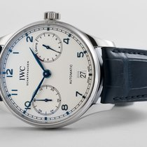 IWC Portuguese Automatic new Automatic Watch with original box and original papers IW500705