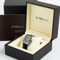 TAG Heuer Monaco Calibre 6 Acier 37mm Noir Sans chiffres