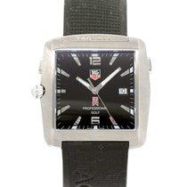 TAG Heuer Professional Golf Watch Stahl 35mm Schwarz