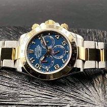 Rolex Daytona Or/Acier 40mm Bleu Sans chiffres France, TOULOUSE