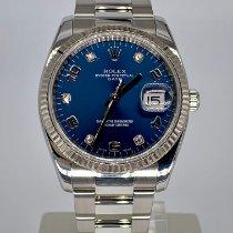 Rolex Oyster Perpetual Date Acciaio 34mm Blu Italia, Arezzo