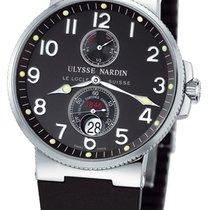 Ulysse Nardin Marine Chronometer 41mm Acero 41mm Negro Arábigos