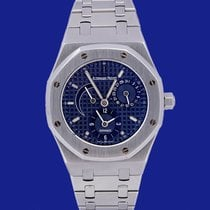 Audemars Piguet Royal Oak Dual Time Acciaio 36mm Blu Italia, Eur (RM)