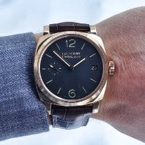Panerai Radiomir 1940 3 Days pre-owned 47mm Brown Date Crocodile skin