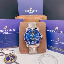 Breitling Superocean Heritage 42 Gold/Steel 42mm Blue No numerals United States of America, Maryland, Potomac