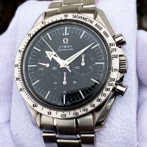 Omega Speedmaster Broad Arrow Steel 42mm Black No numerals United States of America, Wisconsin, DePere