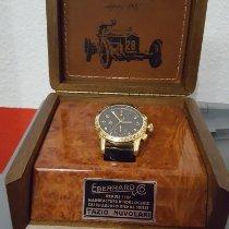 Eberhard & Co. Yellow gold Automatic Black Arabic numerals pre-owned Tazio Nuvolari