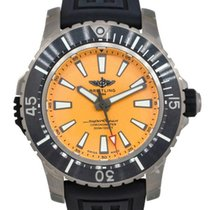 Breitling Titanium Automatic Yellow 48mm pre-owned Superocean