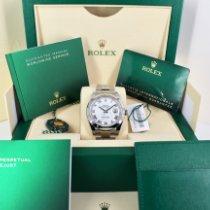 Rolex Datejust Steel 41mm White Roman numerals United Kingdom, London